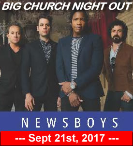 Big Church Night Out featuring NewsBoys