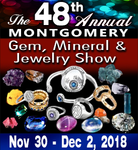 The 48th Annual Montgomery Gem, Mineral and Jewelry Show