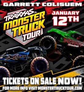 TRAXXAS MONSTER TRUCK DESTRUCTION TOUR