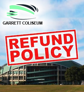 Garrett Coliseum will fulfill refunds for events that have been cancelled.
