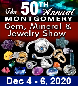 The 50th Annual Montgomery Gem, Mineral and Jewelry Show